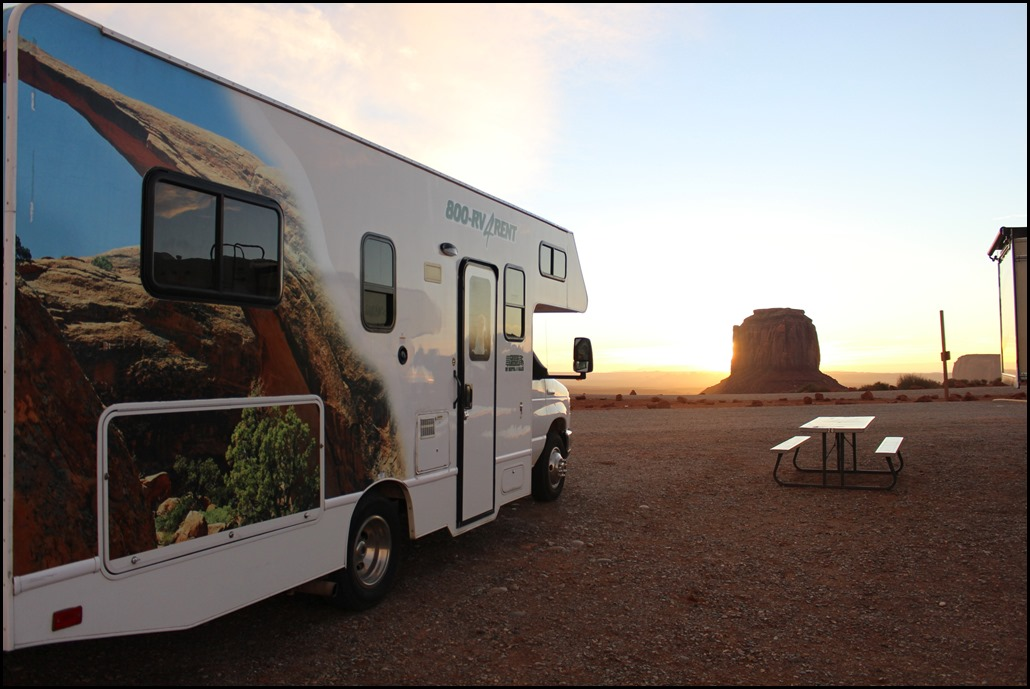 Camper rondreis amerika, monument valley, kosten