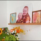 Foto's in je interieur verwerken